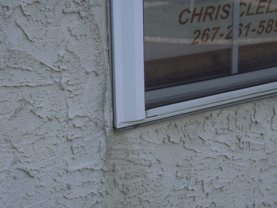 Examples Of Typical Improper Installation Of Stucco And